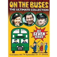 "On the Buses The Ultimate Collection DVD. This double-decker Britcom classic stars Reg Varney as jack-the-lad bus driver Stan, Bob Grant as his chirpy conductor and best mate, Jack and Stephen ""I'll have you Butler!"" Lewis as long-suffering, dim-witted ""Inspector Blakey"", who does his best to get the buses out on time, while making Stan and Jack's lives as miserable as possible. One of the most successful TV series ever made, running from 1969 to 1973."