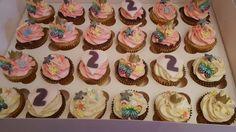 Princess fairy cupcakes