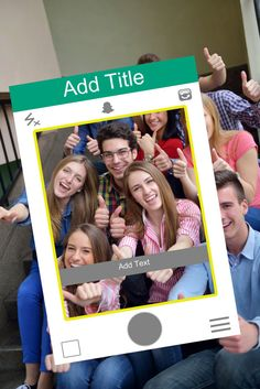 Make your event unforgettable with this social media photo booth prop. Your guest will love capturing memories from your event with this prop.