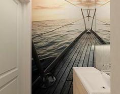 MIESZKANIE NA URSYNOWIE 85 M2 - Mała łazienka w bloku bez okna, styl nowoczesny - zdjęcie od design me too