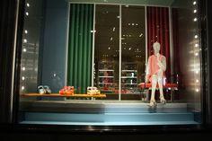 Miu Miu windows at Bond street, London » Retail Design Blog