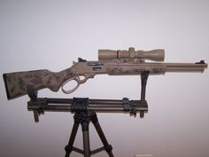 Lever Action, Leather Working, Firearms, Weapons, Hunting, Guns, Military, Ideas, Weapons Guns