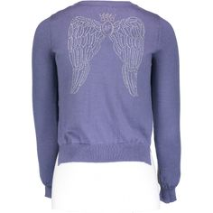 bb5f28ecc42d3 A super cute and very wearable finely knitted cardigan in a Indigo blue. It  has