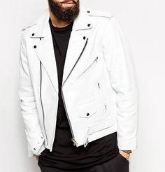 Lowell Men Leather jacket