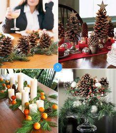 Wnętrza: 10 pomysłów na świąteczne dekoracje z szyszek
