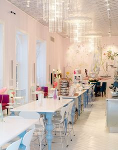 A great mix of classic and modern in this elegant interior at Royal Cafe Copenhagen.
