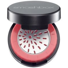 Got this off a friend and was so scared to use it cuz its super pigmented, but getting better at it | Smashbox Halo Long Wear Blush in Blissful - berry #sephora