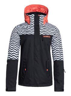 Jetty Block Snowboard Jacket