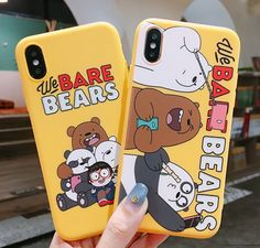 Bears Phone Case For max Ivybycrafts - Thin Iphone 6 Plus Case - Bears Phone Case For max Ivybycrafts Case Iphone 6s, Floral Iphone Case, Marble Iphone Case, Iphone 7, Iphone 6 Plus Case, Iphone7 Case, Modelos Iphone, We Bare Bears, Cute Phone Cases