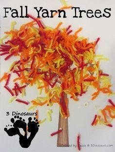 Red Leaf Yellow Leaf – Fall Yarn Tree
