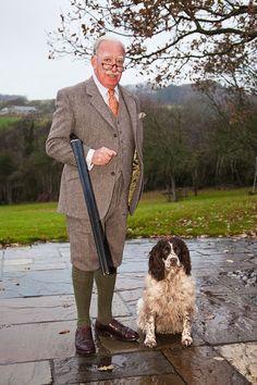 Shooting Country Suit Harris Tweed & Plus 2s by Henry Herbert Tailors