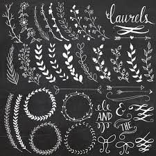 hand drawn holly leaves - Google Search