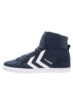 timeless design d86bd 41e80 Hummel SLIMMER STADIL - Sneaker high - dress blue white - Zalando.de Björn