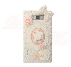 White phone case Butterfly Cameo phone case iPhone Galaxy Sony Nokia LG HTC Huawei