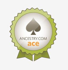 My ancestry.com ace badge.  Happy searching!