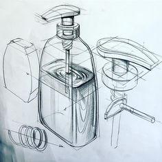Obje çizimi sabunluk kara kalem çalışması.