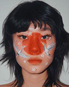 Get to know the make-up artist and creative Kicki Yang Zhang Makeup Inspo, Makeup Art, Makeup Inspiration, Fairy Makeup, Makeup Ideas, Face Paint Makeup, Mermaid Makeup, Huda Beauty, Beauty Makeup