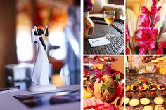 a beautiful wedding cake topper | Anna Rozenblat Photography | New York | Boston | New Jersey | Destination Weddings - www.AnnasWeddings.com