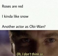 Please give us our Obi-Wan Star Wars movie now!