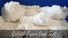 super sand test, goliath super sand test, sand für drinnen test Baby, Kinetic Sand, 3d Shapes, Beautiful Fish, Wave Pattern, Newborn Babies, Infant, Baby Baby, Doll