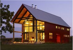 Barn-inspired house by Northworks Architects and Planners