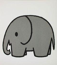 Dick Bruna olifant