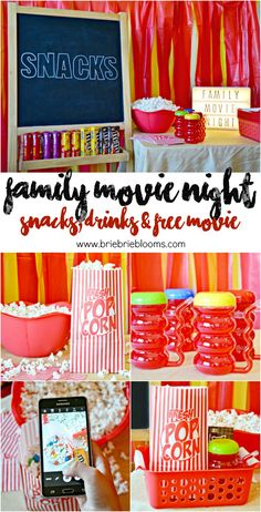 Plan an easy family movie night at home. The Walmart Family Mobile PLUS Plan includes a free VUDU movie credit every month per line. #YourTaxCash #ad