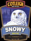 Cotleigh Brewery - Snowy Single Malt - Snowy Owl Beer!