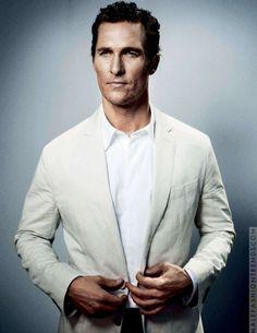 Matthew McConaughey para D la Repubblica por Benni Valsson