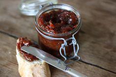 Chutney de tomates pour accompagner foie gras, ou un fromage de CHEVRE frais !