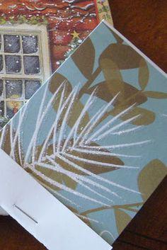 Hope Studios: Christmas Card Note Pads Tutorial