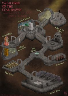 Catacombs of the Star Spawn