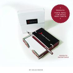 Sony Music - Produto: Porta-papel com apoio para caneta By Dalva Marim - Todos os direitos reservados