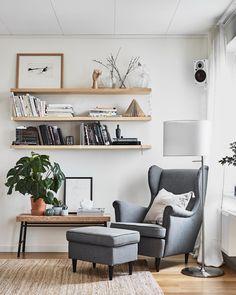 """2,857 mentions J'aime, 10 commentaires - IKEA FRANCE (@ikeafrance) sur Instagram : """"Enfin du temps pour soi ! STRANDMON fauteuil 249€ et repose pieds 79 €, STOCKHOLM lampadaire 135€…"""""""