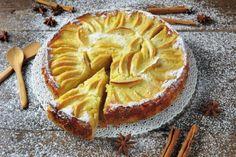 La torta di mele cremosa