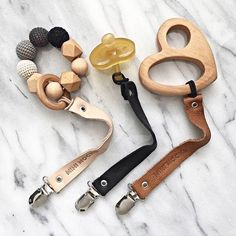 All about these Mini Mocks Pacifier clip - Need one in every color, please