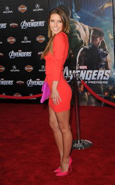 "Audrina Patridge Photos - Actress Audrina Patridge arrives at the premiere of Marvel Studios' 'The Avengers' at the El Capitan Theatre on April 2012 in Hollywood, California. - Premiere Of Marvel Studios' ""Marvel's The Avengers"" - Arrivals Beautiful Legs, Most Beautiful Women, Talons Sexy, Look Body, Looks Pinterest, Audrina Patridge, Mode Jeans, Sexy Legs And Heels, Sexy Hot Girls"