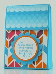 Sweet Taffy Magnetic Gift Bag