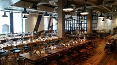 The happenstance restaurant banqueting style for wedding party