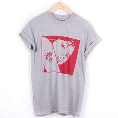 XCVB - Looker Hooker Grey    #streetwear #tees  #fashion #menswear #summer #independent #clothing #designer #hiphop #skateboarding