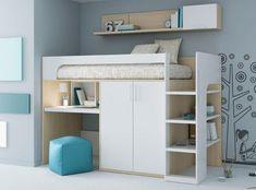 Lit mezzanine / contemporain / avec bureau / pour enfant (mixte) KIDS UP 2 : 74 ROS 1 S.A.