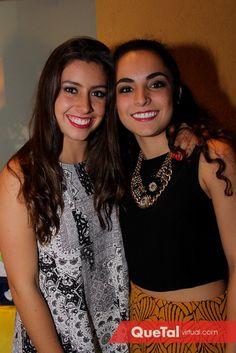 Daniela Navarro y María Bravo | Quetal Virtual #croptop #style #outfit #look #lookquetal #party