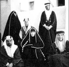 Princes Alice daughter of queen Victoria of England visit Saudi Arabia 1938