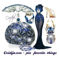 """My blue dream set;)"" by ovidija ❤ liked on Polyvore"