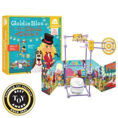 GoldieBlox and the Dunk Tank Award Winning Book Series and Construction Toys for Girls