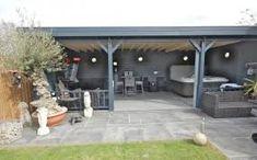 timber framed bungalows courtyard - Google Search Keller Interiors, Outdoor Gardens, Garden Design, Patio, Bungalows, Frame, Outdoor Decor, Google Search, Home Decor