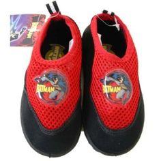 Warner Bros Batman Aqua Socks Water Shoe  Blue 56 *** More info could be found at the image url.