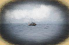 Fishing Boat - Photography - Fishing Boat Print - Ocean - Alaska - Sitka - Deep Sea - Fisherman - Ocean Photography - Deep Sea Fishing by BrightArtStudios on Etsy