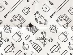 Icon Pattern by Tyler Deeb