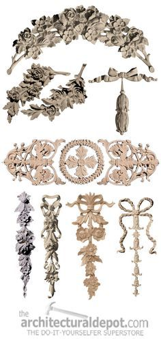 Furniture Appliques Seen On Her Site